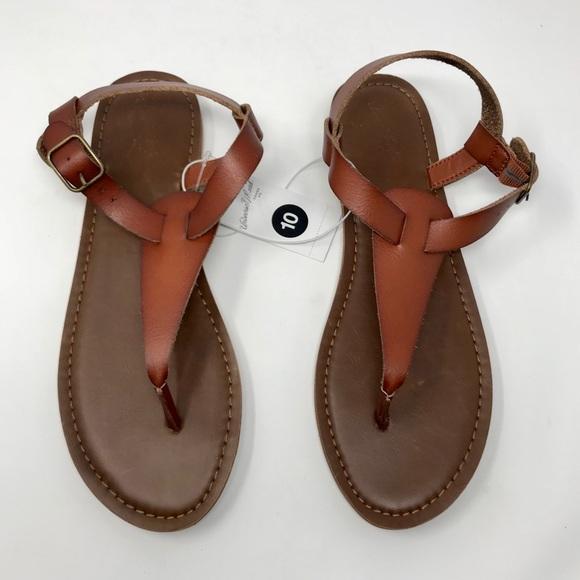 218efad57c3bed Women s Universal Thread Cognac Lady Thong Sandals